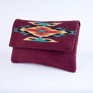 Southwest Boho Clutch Purse Chimayo Style